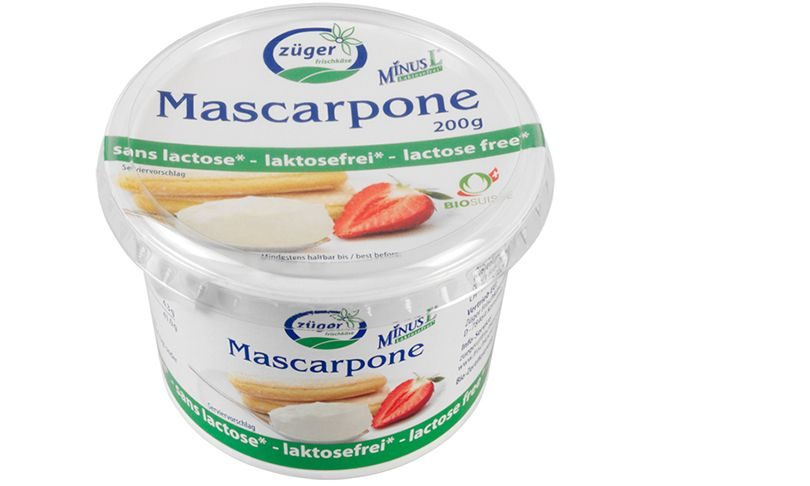 laktosefreie mascarpone